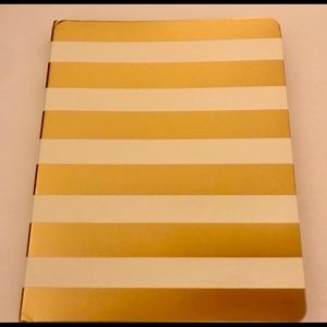 kate spade Office - New Kate Spade Spiral Notebook Gold and White